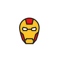 View Iron Man Outline  Background