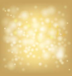 Gold bokeh light blur celebration festival vector
