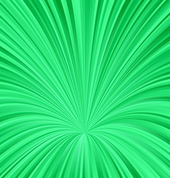Green abstract vortex design background vector