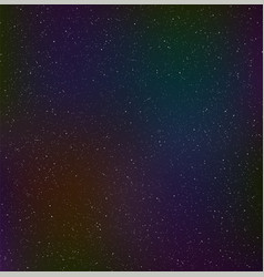 Night starry sky cosmic dust vector