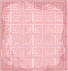 pattern pink chinese style vector image