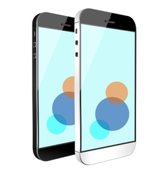 smart phone tablet vector image vector image