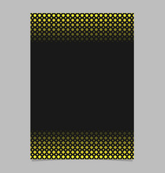 abstract halftone geometrical dot and square vector image
