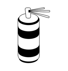 Aerosol can icon image vector