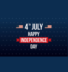 background for independece day style vector image