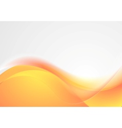 Bright wavy abstract background vector