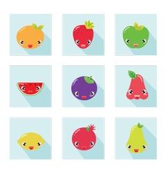 Cute Fruit Icon 001 vector