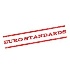Euro Standards Watermark Stamp vector