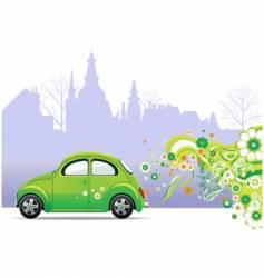 environmental car vector image vector image