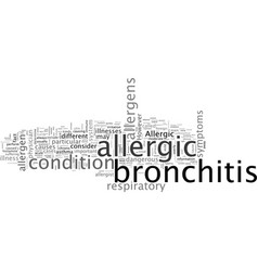 Allergic bronchitis vector