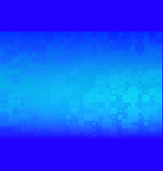Azure blue glowing various tiles background vector