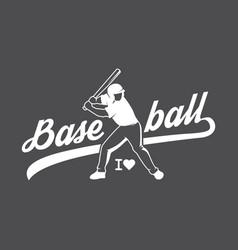 Baseball logo and insignia vector