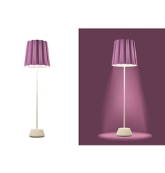 Floor Lamp vector