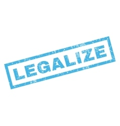 Legalize rubber stamp vector