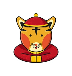 Tiger Chinese vector image