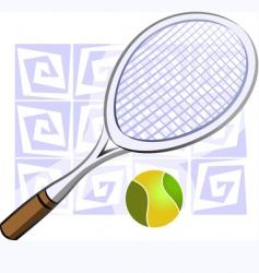 bat and ball vector image vector image