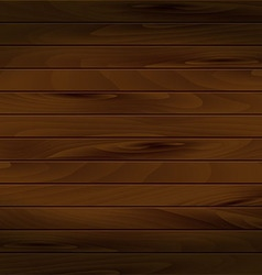 Realistic wooden background vector image