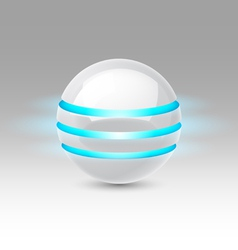 Future sphere vector image
