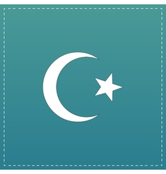 Islam flat icon vector