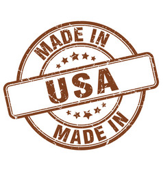 Made in usa vector