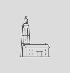 Montauk Point Lighthouse vector