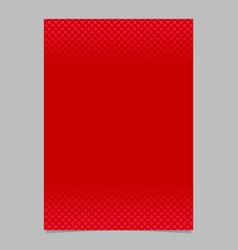 red abstract halftone geometrical dot and square vector image