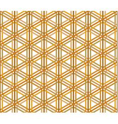 Seamless traditional japanese ornament kumiko vector