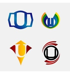 Set of Decorative Letter T - Icons Logo and Elemen vector