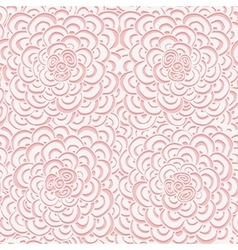 Simple seamless pink pattern vector image