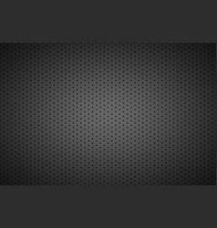 Structured dark metallic perforated background vector