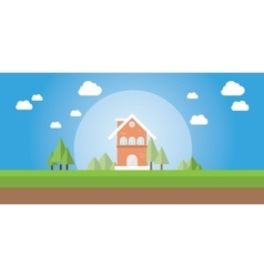 home or house insurance and protection vector image vector image
