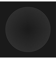 Abstract dot shape design element vector image