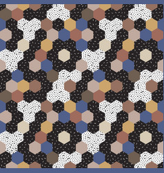 abstract seamless pattern mosaic vector image