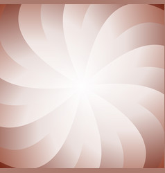 abstract spiral background from swirling rays vector image