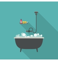 Bath vector image