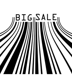 Big Sale bar codes all data is fictional EPS 8 vector image