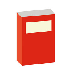 book supply on white background vector image