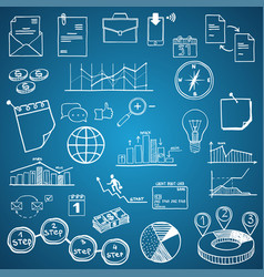 business and economy finance web and internet vector image