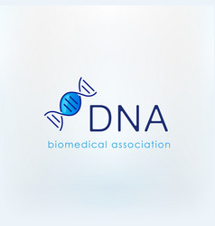 candy dna logo vector image