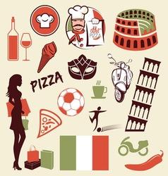italia asocijacije1 vector image