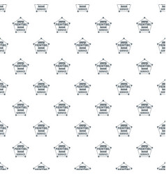 painting service pattern seamless vector image