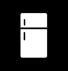 refrigerator icon design vector image