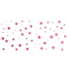 Stylish hand drawn stars vector
