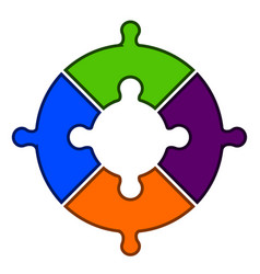 teamwork concept image vector image
