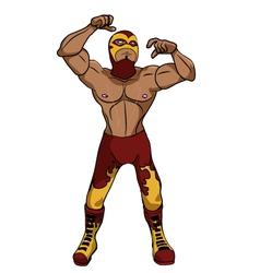 Wrestler Suna vector image