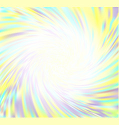 swirling colorful blurred background vector image
