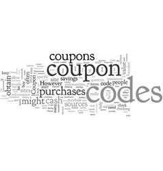 Amazon coupon codes vector