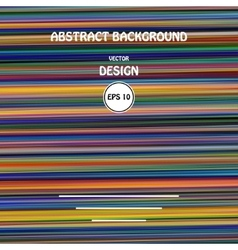 color glitch abstract background vector image