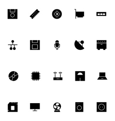 Electronics Icons 3 vector image