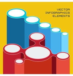 Infographics elements for presentation vector